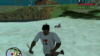 GTA SA: Mysteries - Killer with chainsaw