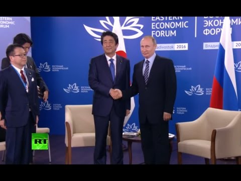 Putin & Abe speak at Eastern Economic Forum in Vladivostok, Russia