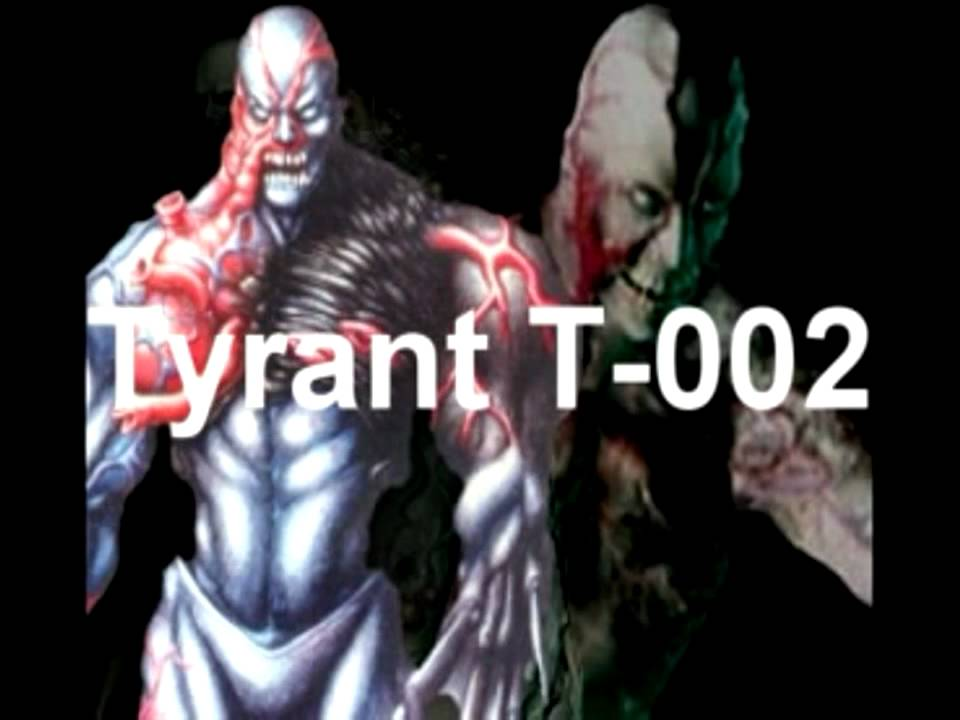 Resident Evil - Chris - Final Boss Fight : Tyrant T-002 ... Resident Evil Tyrant T 002