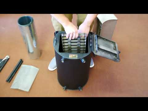 Summit Wood Burning Camp Stove Pack/Un-Pack