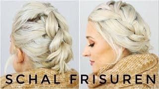 Schal Frisuren - Herbst Looks | OlesjasWelt