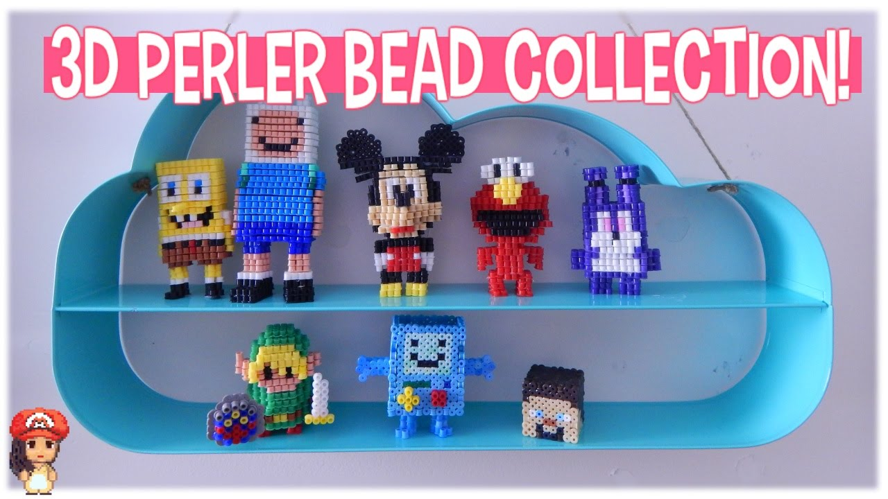 3d perler bead projects