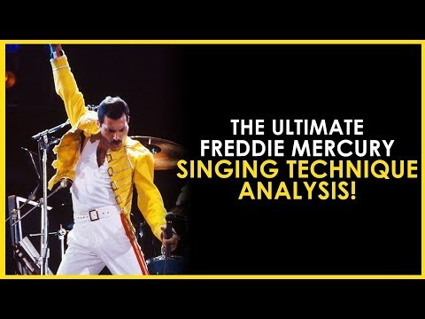 The ULTIMATE Freddie Mercury Singing Technique ANALYSIS! - By Professional Singing Teacher