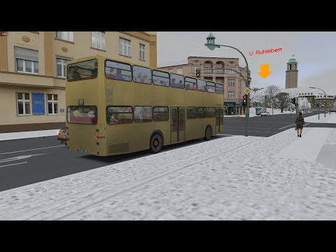 OMSI 2 - Berlin Spandau - MAN SD200 -SD77 - Line 5: Nervenklinik - U Ruhleben
