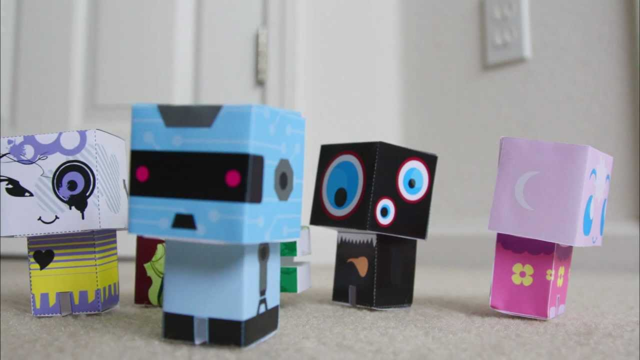 paper critters creer son paper toy