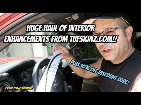 Tacoma Huge Haul Of Interior Parts From TUFSKINZ COM!!