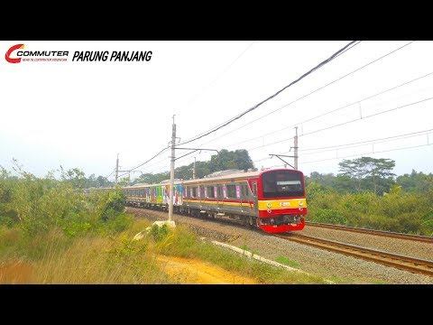 Pesona KRL Commuter Line Lintas Parung Panjang