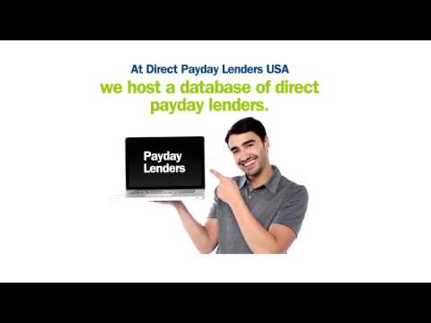 payday loans direct lender only payday loans direct lender only from YouTube · Duration:  30 seconds