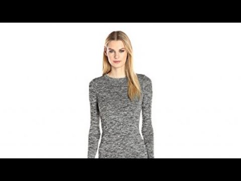 8a755f56e22 French Connection Women s Sweeter Sweater Dress - YouTube