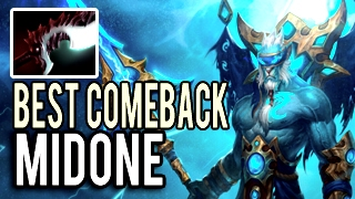 Best Comeback in The World! Phantom Lancer with 8 Slots Destroy ALL by MidOne 9k MMR Dota 2