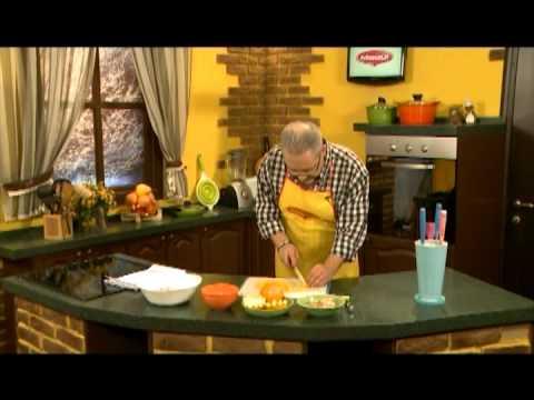 Быстро и Вкусно - Салат в апельсине