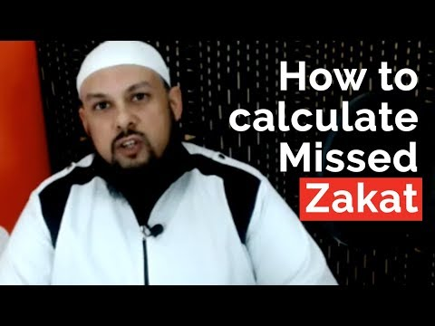 'How to calculate unpaid/missed Zakat' tutorial with Mufti Billal Omarjee
