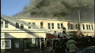 Main Street Allenhurst, NJ 1992 Christmas Day Fire - Part 3 of 5