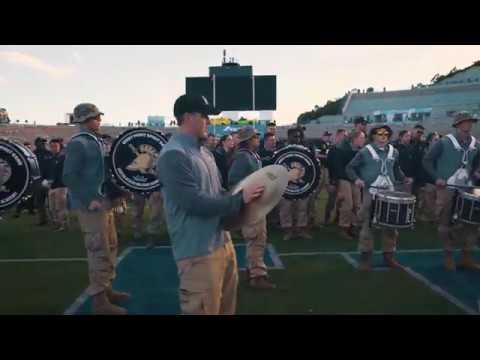 Army/Air Force Drumline Battle 2017 [4K]