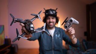 DJI FPV Unboxing. S tímhle dronem si nezahrávej! [4K]