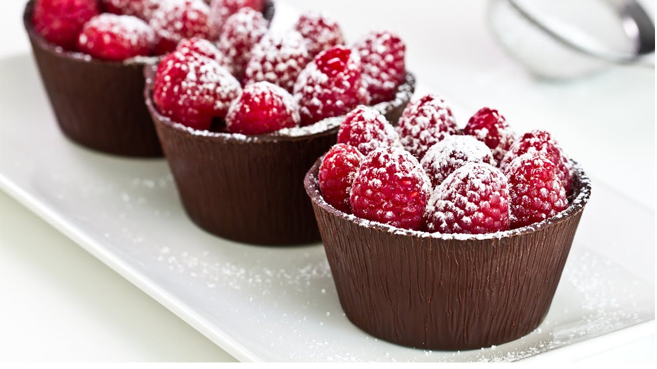 Chocolate Raspberry Mousse Cups Recipes — Dishmaps