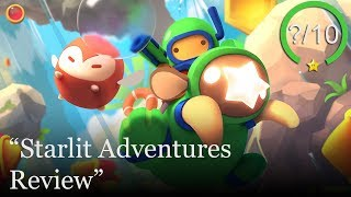 Starlit Adventures PS4 Review - Free to Play (Video Game Video Review)