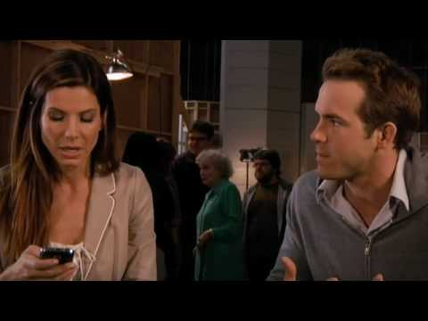 Ryan Reynolds Rage On Set Of The Proposal Youtube
