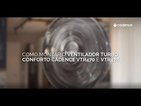 Ventiladores Turbo Conforto - Como Montar