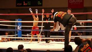 2010.8.14 Krush9 佐藤嘉洋 vs 名城祐司 vol.1