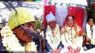 New Bride & Groom with relatives and Villagers || Cultural Marriage system of Rural Nepal