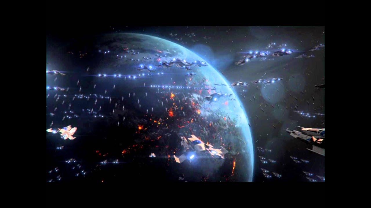 mass effect 3 final space battle good ending youtube