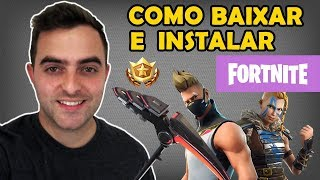 Como Baixar e Instalar Fortnite (No PC e Notebook)