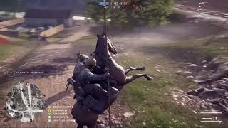 Battlefield 1 - Conquest - Rupture - Horse Struggle