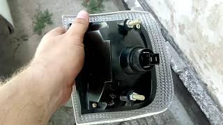 Замена, снятие поворотника волга 3110
