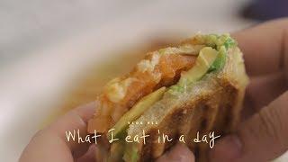 [ENG SUB] VLOG #11 하루세끼, 파니니와 무밥 : What I eat in a day, Panini & Radish Rice   Honeykki 꿀키