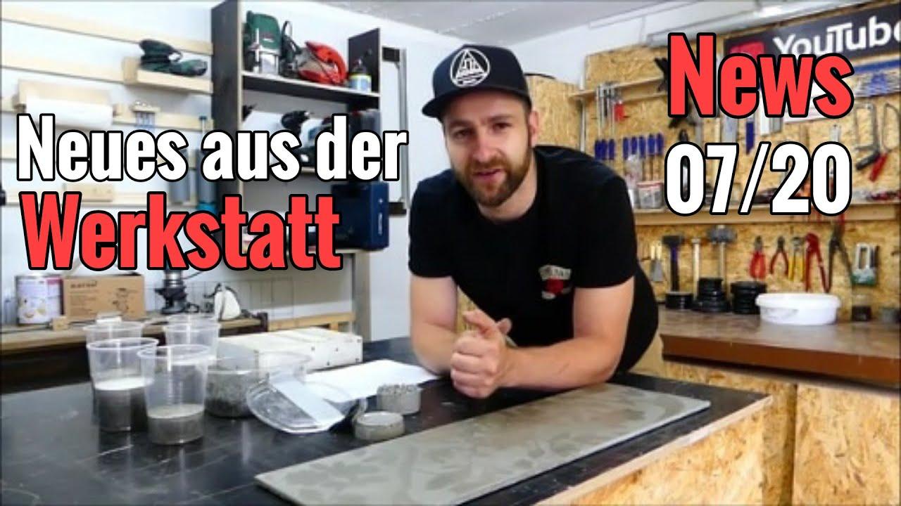 Werkstattnews 07/20: News, eure Fragen, Geschenke...