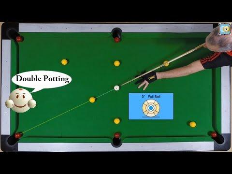 BlackBall Exercise #13 - Double Potting - Pool & Billiard Training Lesson