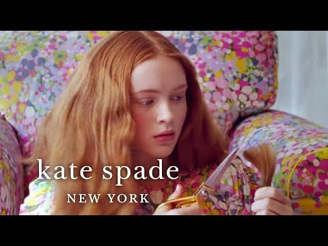 we love sadie sink | spring 2019 campaign | kate spade new york