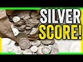 MEGA SILVER SCORE - RARE SILVER COINS FROM BANKS
