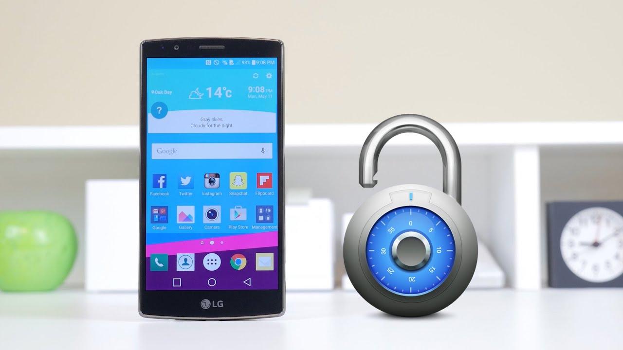 how to unlock a locked lg g4