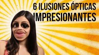6 ilusiones ópticas realmente sorprendentes (RECOPILACIÓN)