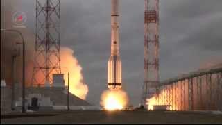 Пуск РКН «Протон-М» с космическим аппаратом «MexSat-1»