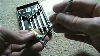 Opération simple, la puissance accrue d'un pointeur laser