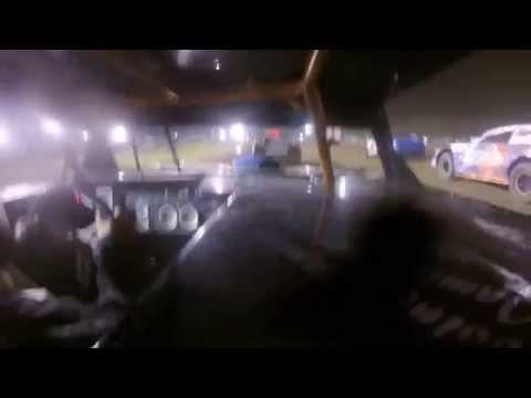 Mercer Raceway Park feature stock car 7/12/14