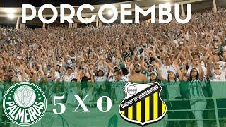 PALMEIRAS 5 x 0 NOVORIZONTINO - QUARTAS DE FINAL PAULISTÃO 2019