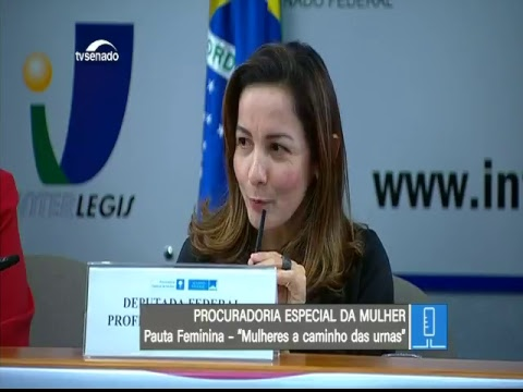 Eleições 2018 - TV Senado ao vivo - Pauta Feminina - 24/05/2018