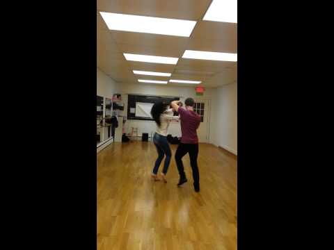 Kevin Toft and Kim Yang Salsa Dancing South Street Salsa