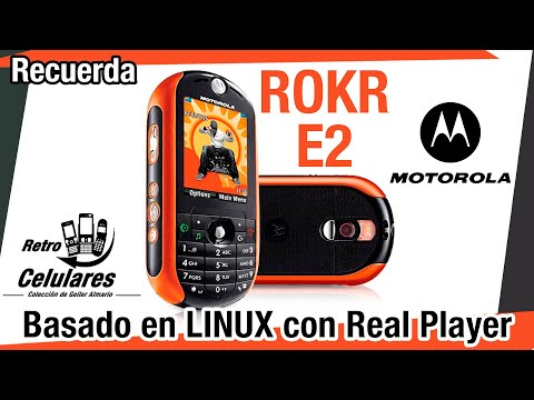 MOTOROLA ROKR E2 Colección Celulares Clásicos