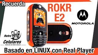 MOTOROLA ROKR E2  Colección Celulares Clásicos, antiguos o viejos OLD CELL PHONES RETRO CELULARES