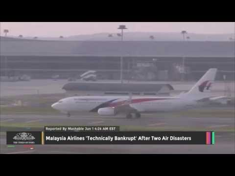 Malaysia Airlines 'Technically Bankrupt' After Two Air Disasters