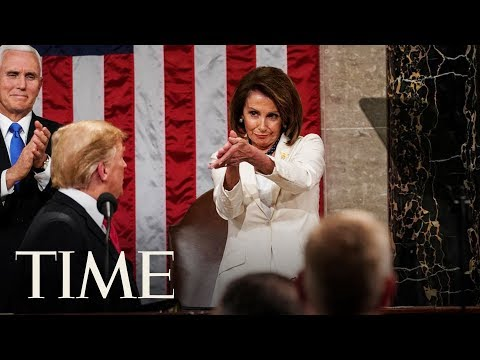 Nancy Pelosi's Clapping Moment At The State Of The Union Has Gone Viral | TIME