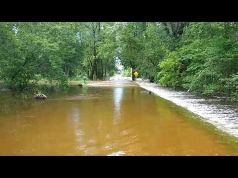 Oil City (Mid-Michigan) Flooding: The Salt River