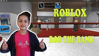 Having fun with Roblox Rob The Bank, Obby!