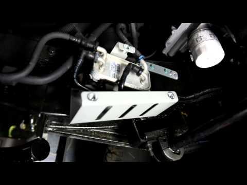DIY Install Land Rover Defender Fuel Cooler Guard