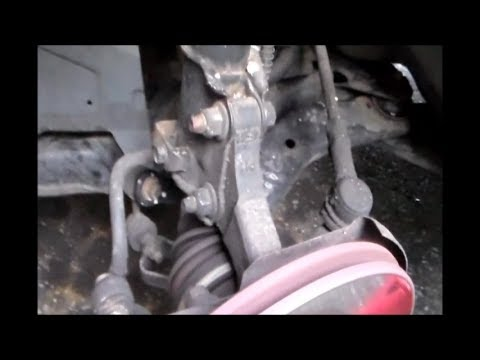 Grinding, Rattling front noise Hyundai Elantra pinpoint the problem